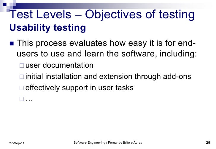 SOFTWARE TEST ENGINEERING     GMU CS Department   George Mason University