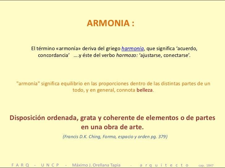 Estetica principios composicion en arquitectura armonia for Que es arquitectura definicion