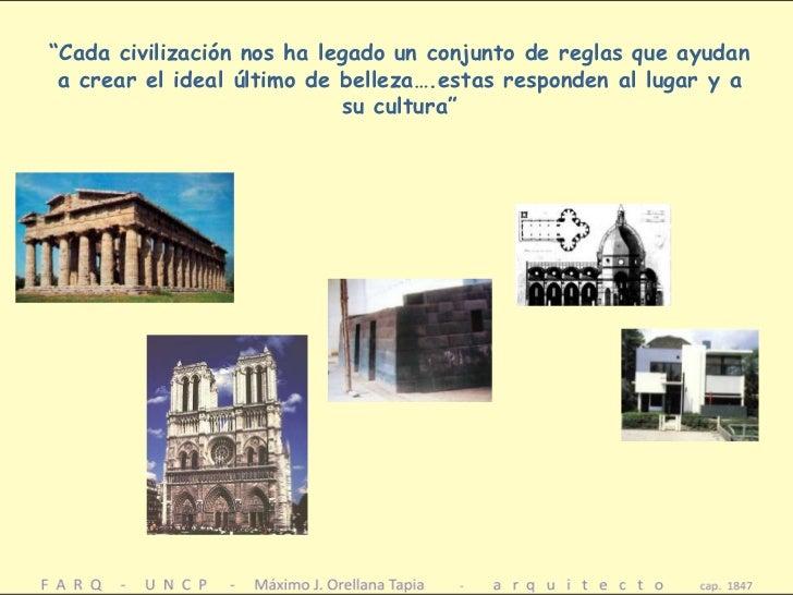 Estetica principios composicion en arquitectura armonia for Arquitectura materias