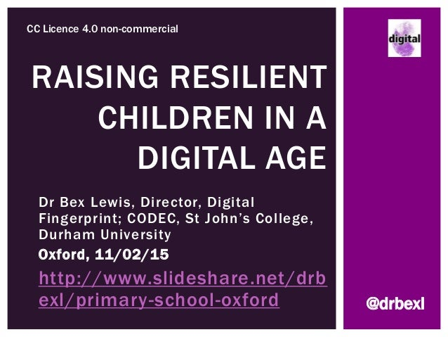 Dr Bex Lewis, Director, Digital Fingerprint; CODEC, St John's College, Durham University Oxford, 11/02/15 http://www.slide...