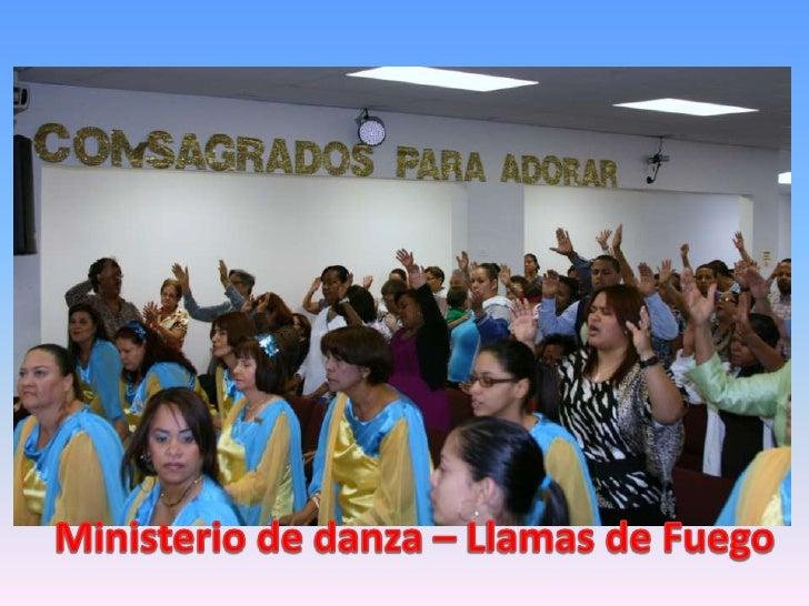 Ministerio de danza – Llamas de Fuego<br />