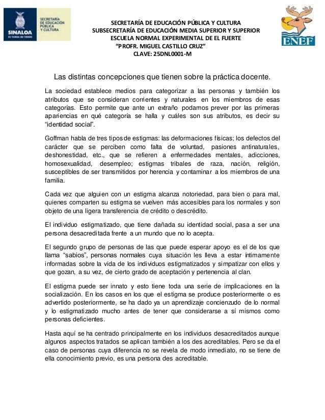 SECRETARÍA DE EDUCACIÓN PÚBLICA Y CULTURA SUBSECRETARÍA DE EDUCACIÓN MEDIA SUPERIOR Y SUPERIOR ESCUELA NORMAL EXPERIMENTAL...