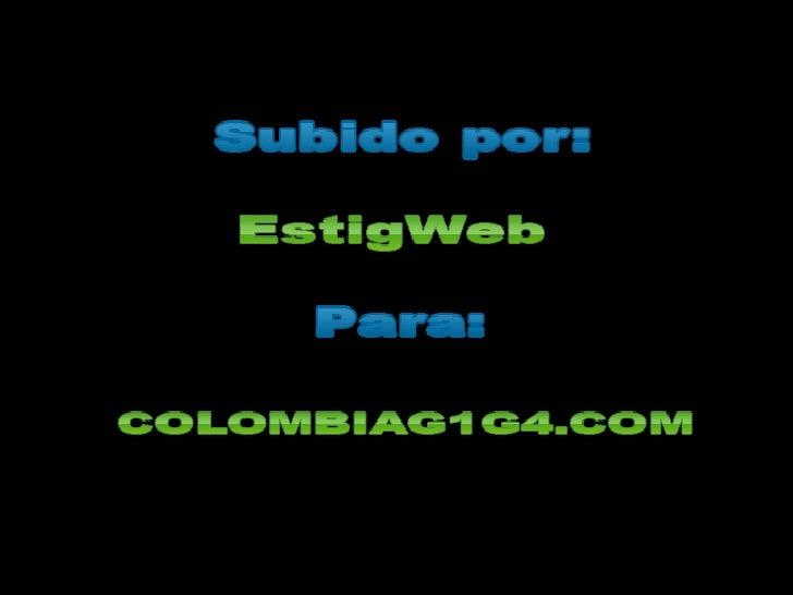 Colombia G1G4 en Español