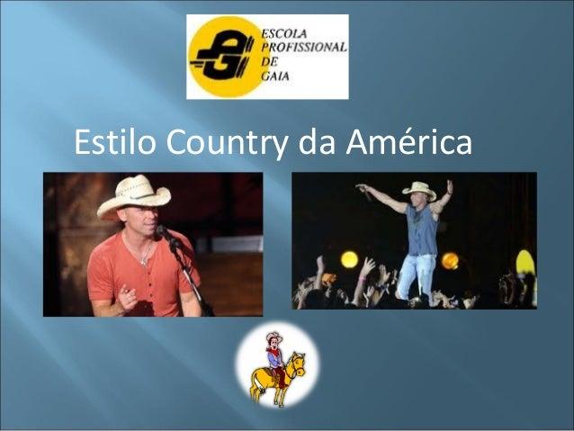 Estilo Country da América