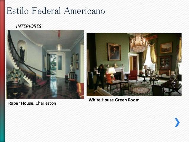 Estilo federal americano for Casas estilo americano interiores