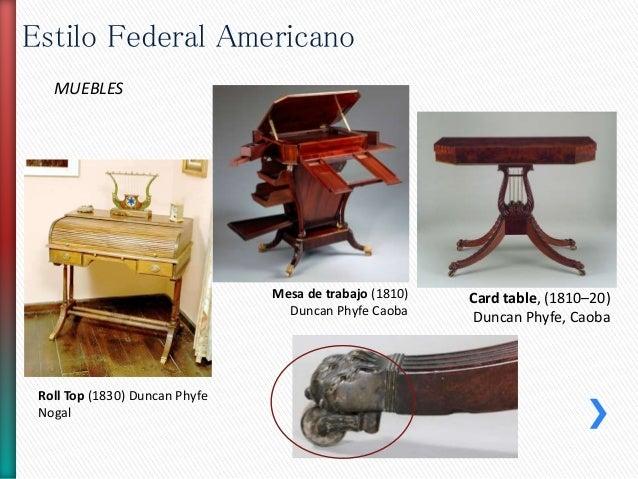 Estilo federal americano