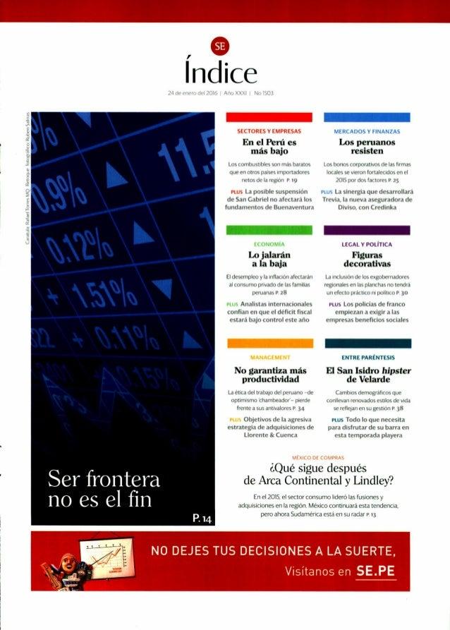 """""""Duplicaremos nuestro tamaño en cinco años"""": Revista Semana Económica"""