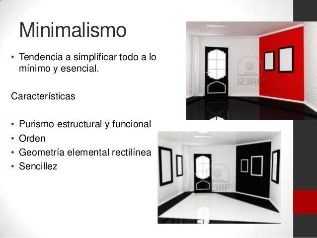 Estilo minimalista logo for Minimalismo caracteristicas