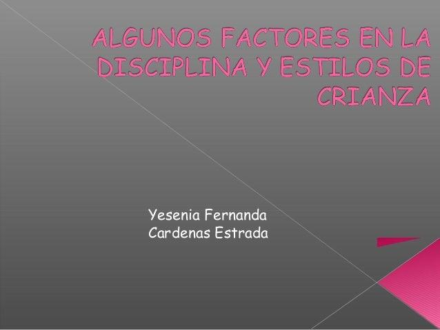 Yesenia Fernanda Cardenas Estrada