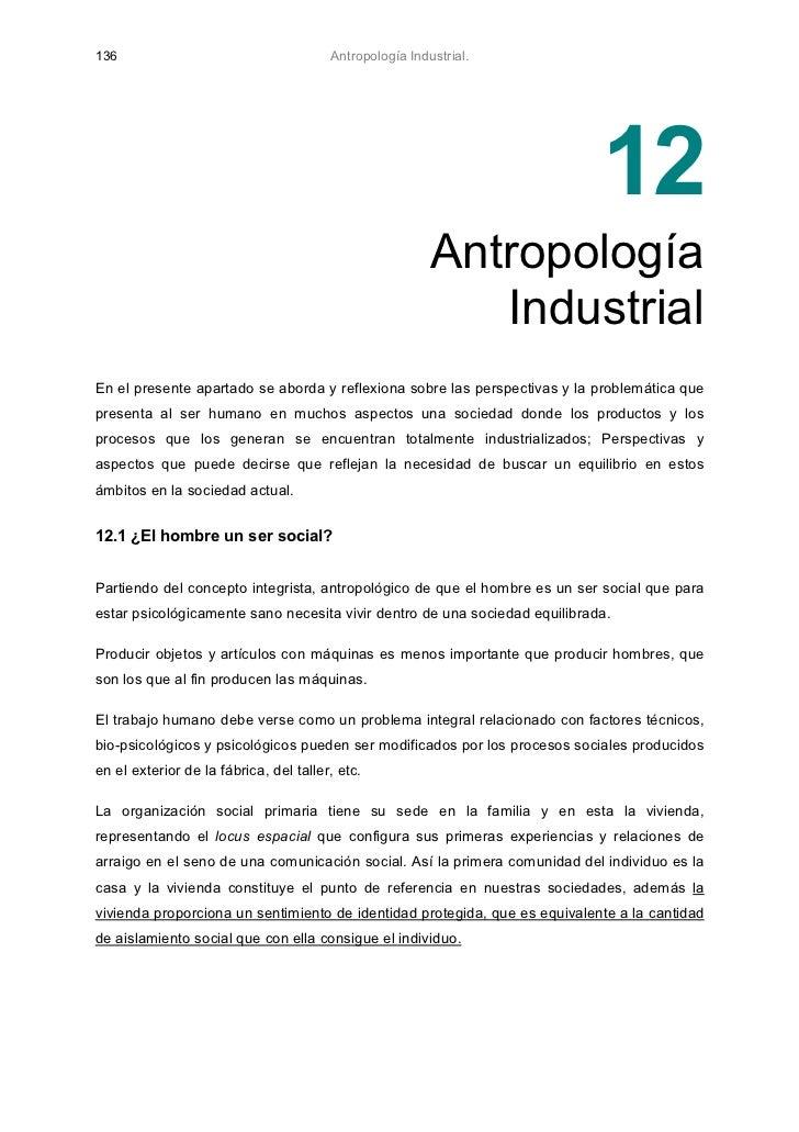136                                     Antropología Industrial.                                                          ...
