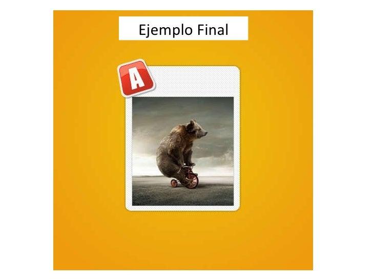 Ejemplo Final
