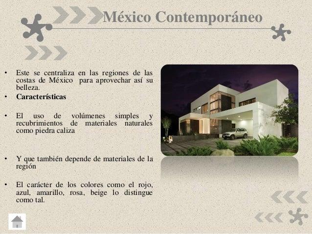 Estilos y tendencias del dise o arquitectonico for Caracteristicas del contemporaneo