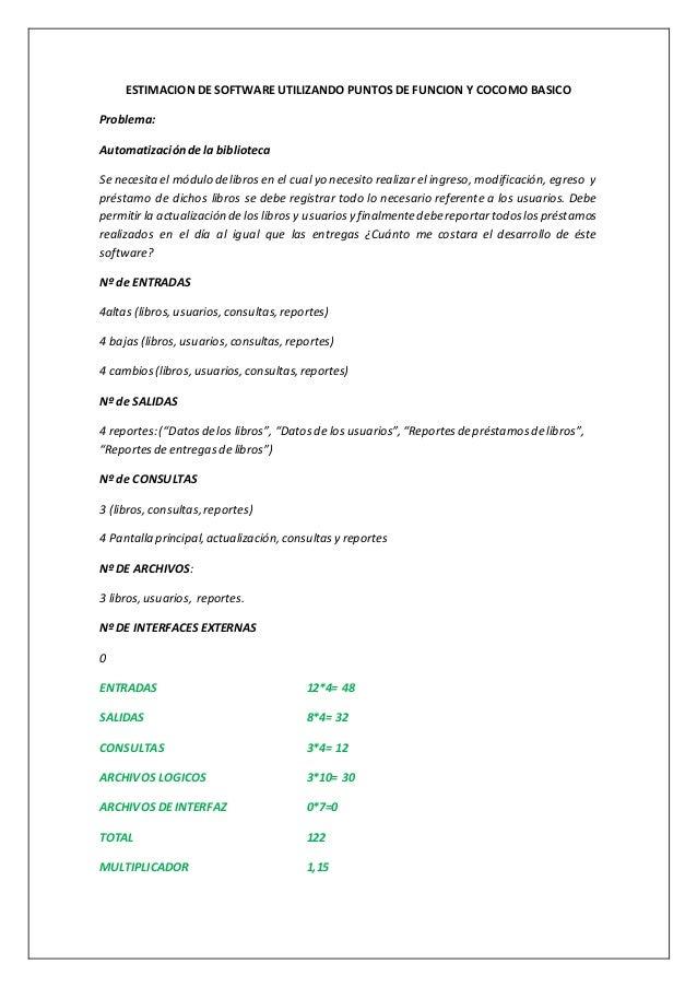 Estimacion de software cocomobasico Slide 2