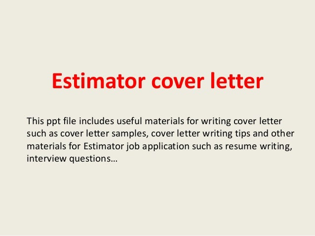 Job Estimate Templates And Work Quotes For Free Biztree Covering Letter  Email Template