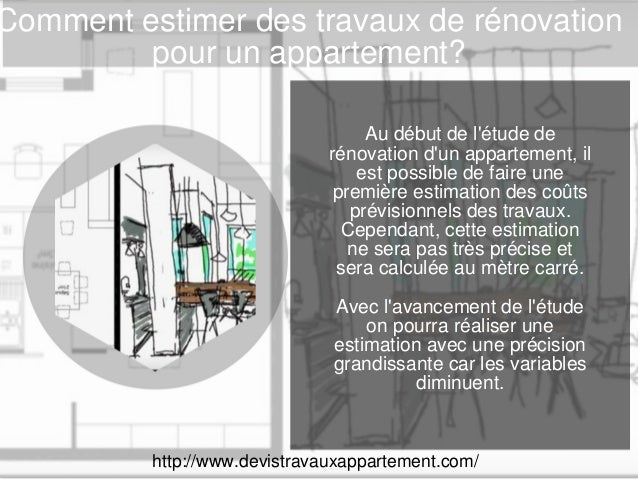 estimer des travaux de r novation. Black Bedroom Furniture Sets. Home Design Ideas
