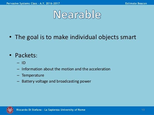 Estimote Beacon presentation