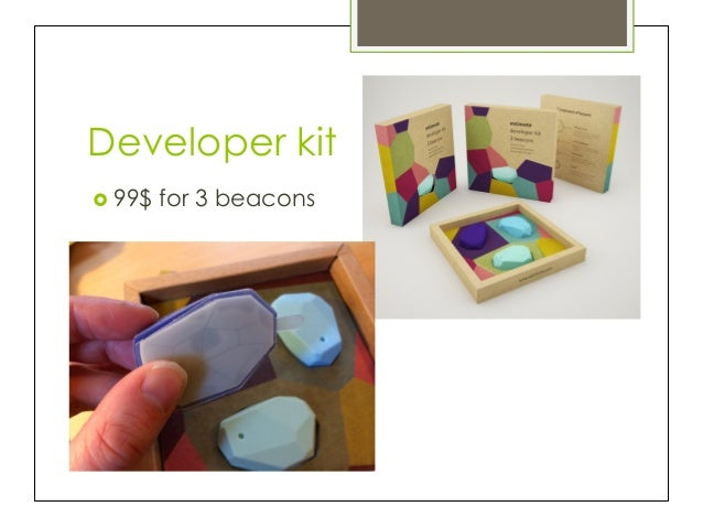 CocoaHeads Tricity] Estimote Beacons - world most popular