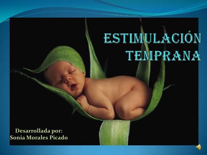 Desarrollada por:Sonia Morales Picado