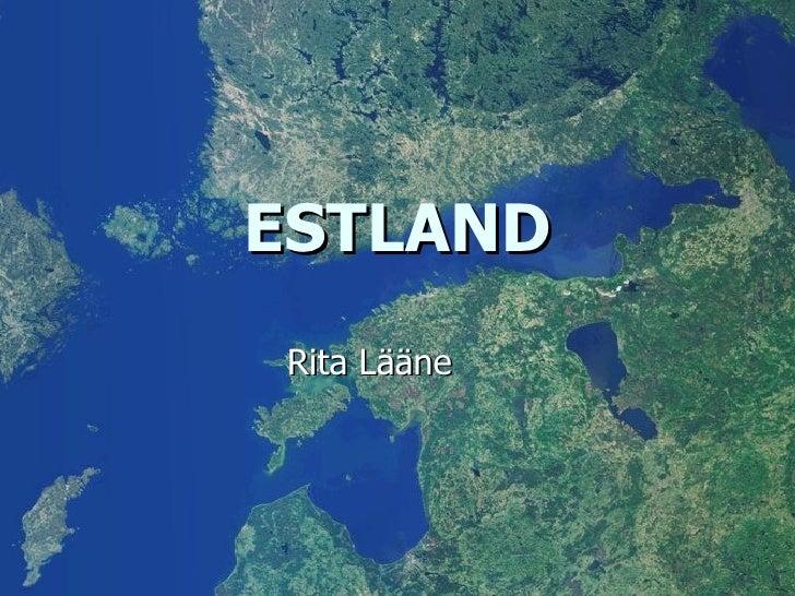 ESTLAND Rita Lääne