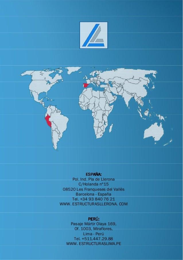 ESPAÑA:ESPAÑA:ESPAÑA:ESPAÑA: Pol. Ind. Pla de Llerona C/Holanda nº15 08520 Les Franqueses del Vallès Barcelona - España Te...
