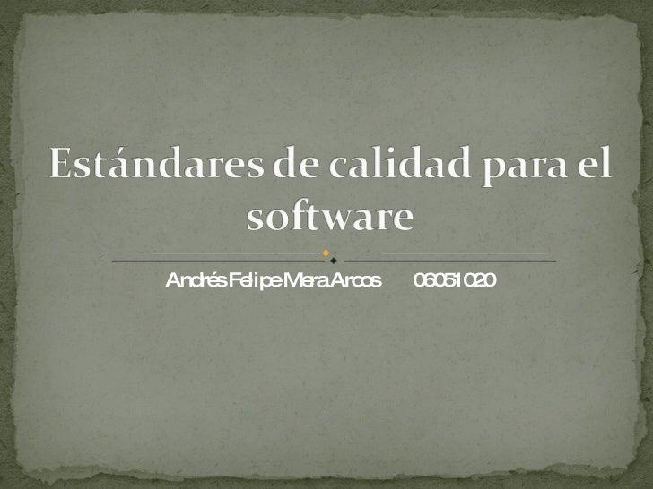 Andrés Felipe Mera Arcos  06051020