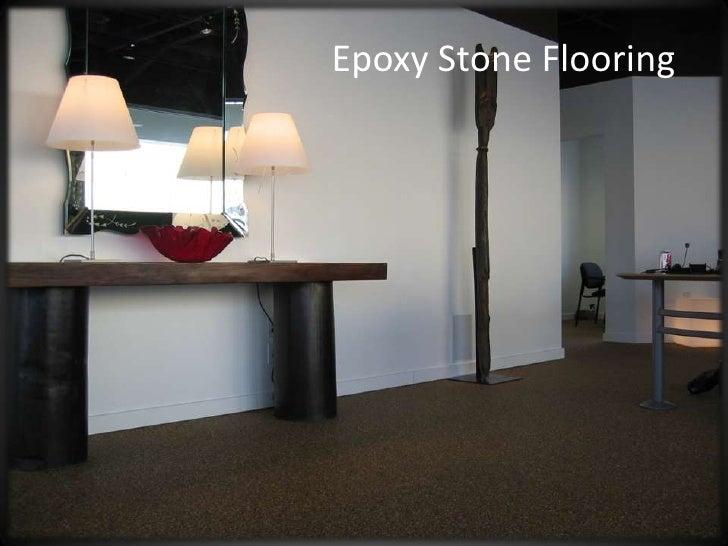 Epoxy Stone Flooring<br />