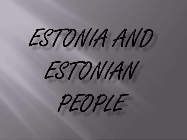 Situating of Estonia