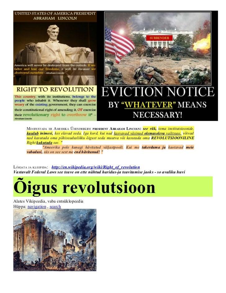 MOODUSTADA ER AMEERIKA ÜHENDRIIKIDE PRESIDENT ABRAHAM LINCOLN: see riik, tema institutsioonide,       kuulub inimesi, kes ...