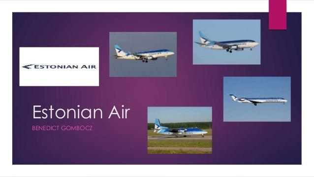 Estonian Air BENEDICT GOMBOCZ