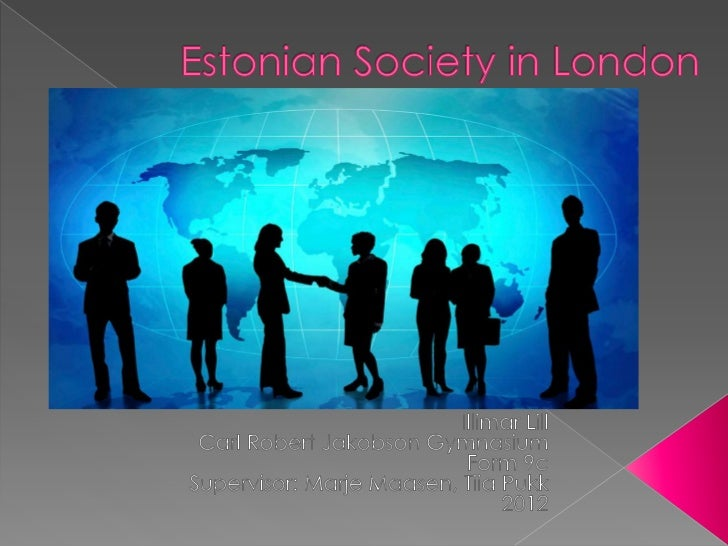  The first Estonian organisation Founded in 1921 At the beginning, they had  only 25 members. In 1934 the amount grew ...