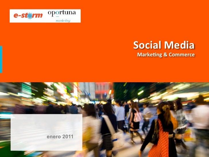 Social Media                Marke-ng & Commerce                                                             ...