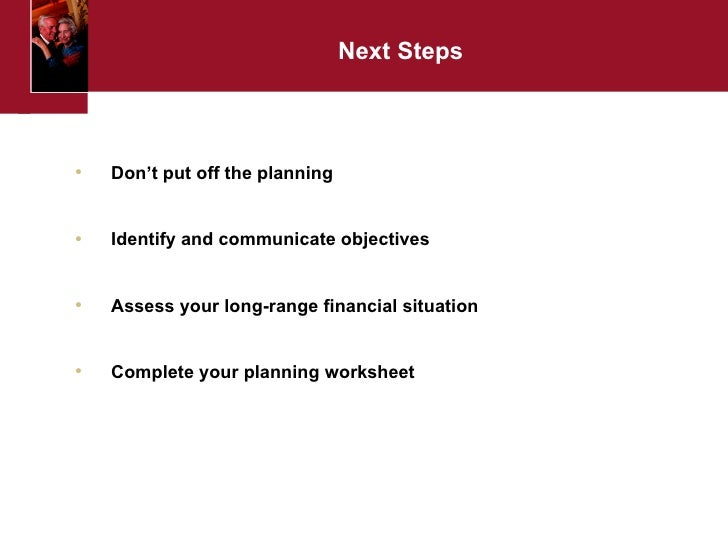 Estate Planning Workshop – Estate Planning Worksheet