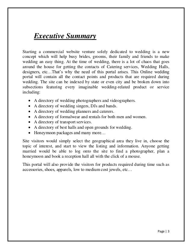 executive summary business plan travel agency