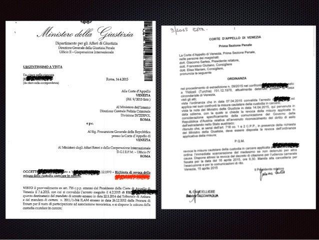 estradizione passiva Corte di Appello Corte di Cassazione (anche merito) Ministro della Giustizia Tribunale amministrativo...