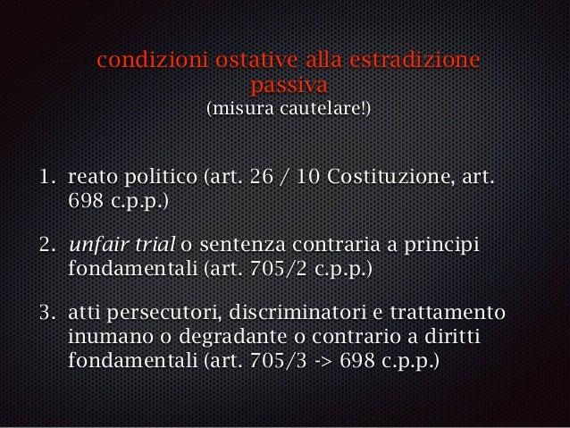 unfair trial / sentenza contraria principi fondamentali Costituzione CEDU Patto internazionale sui diritti civili e politi...