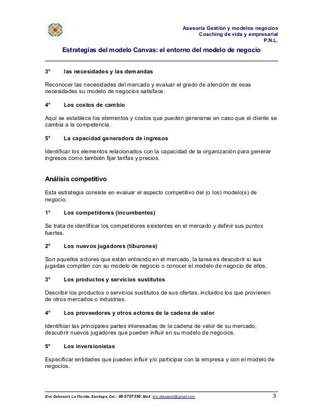 Estrategias del modelo Canvas: el entorno del modelo de negocio Slide 3