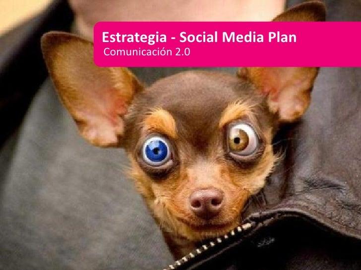 Estrategia - Social Media Plan Comunicación 2.0