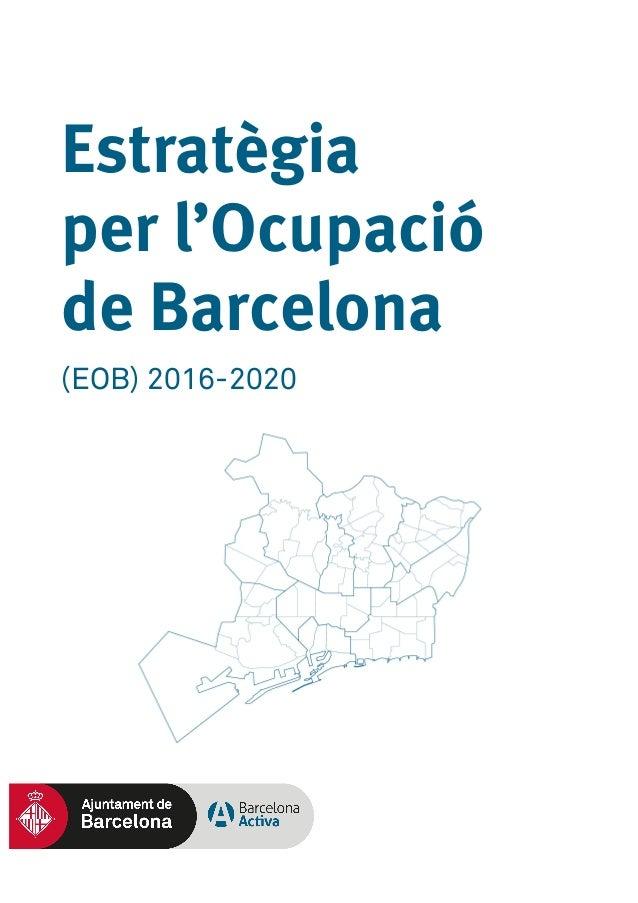 Estratègia per l'Ocupació de Barcelona (EOB) 2016-2020