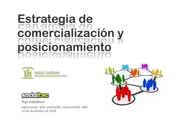 Tags SlideShare: adprosumer, SGD, politica20, educacion20, SMM 10 de noviembre de 2010
