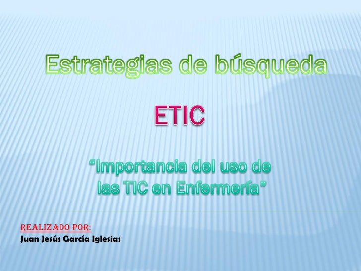 Realizado por: Juan Jesús García Iglesias
