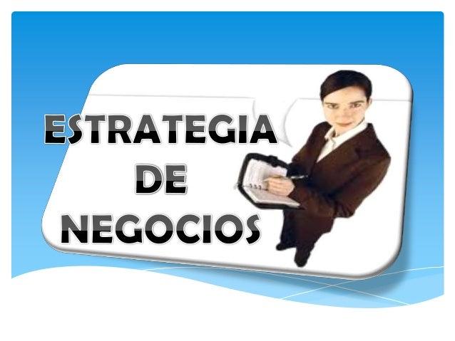 El concepto de estrategia es multidimensional, y abarca la totalidad de las actividades críticas de una empresa pequeña, m...