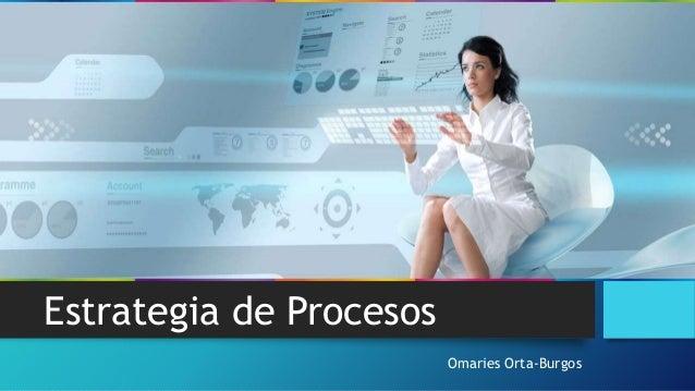 Omaries Orta-Burgos Estrategia de Procesos