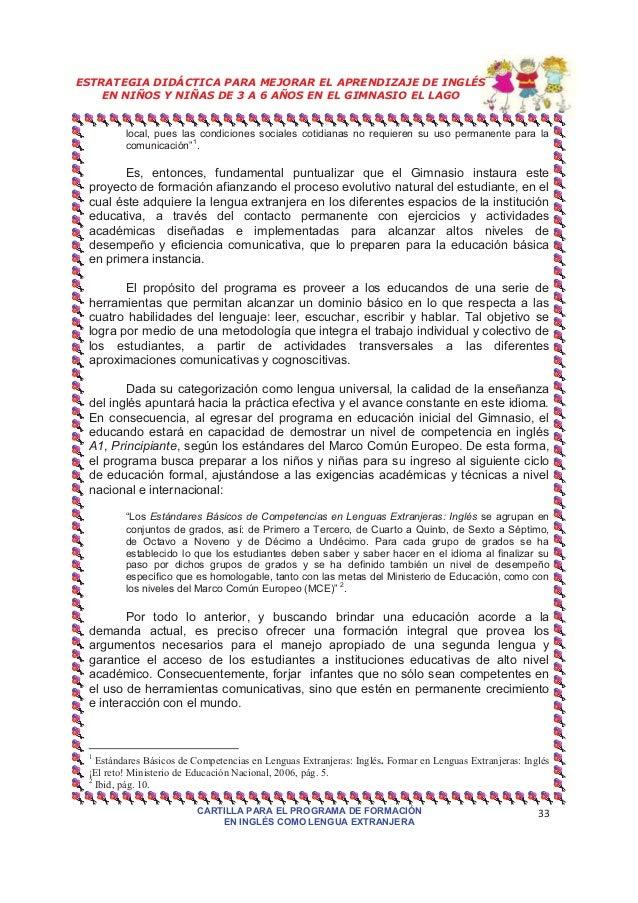 adquisicion de una segunda lengua pdf