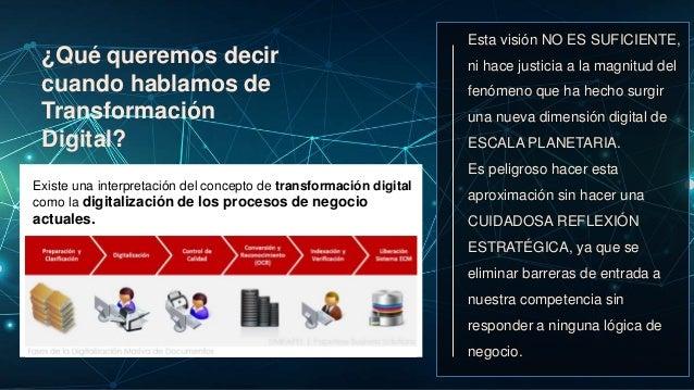 BIG DATA Algunas Ideas para una Estrategia 5D VELOCIDAD DE TRANSFORMACION Innovación