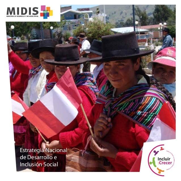 Estrategia Nacional de Desarrollo e Inclusión Social