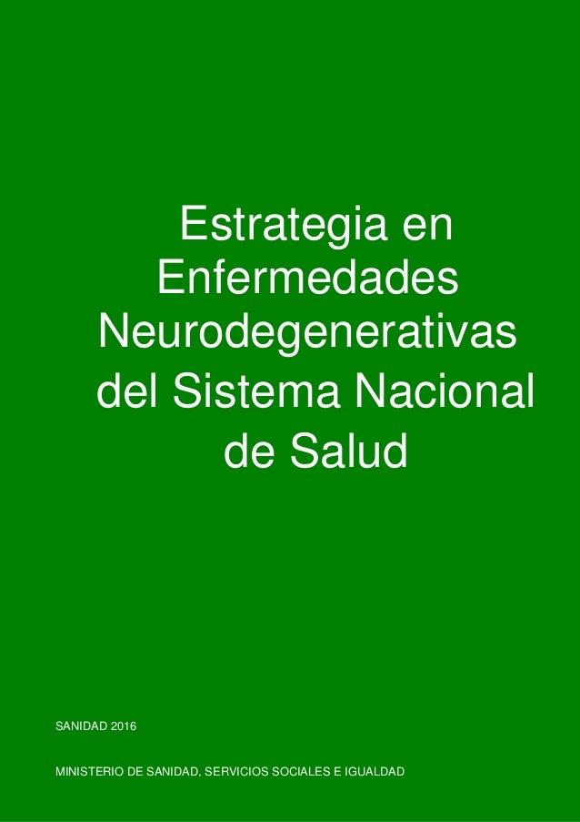 1 9 Borrador de la Estrategia en Ictus del Sistema Nacional de Salud Estrategia en Ictus del Sistema Nacional de Salud SAN...