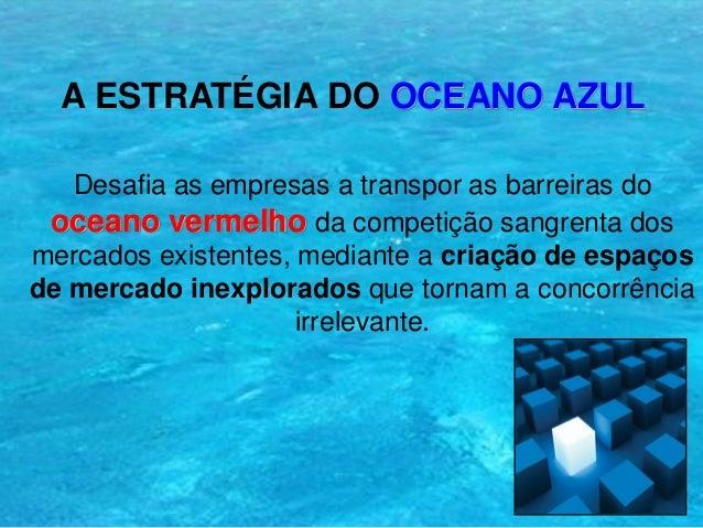 Os 8 pontos-chave da estrat gia do Oceano Azul