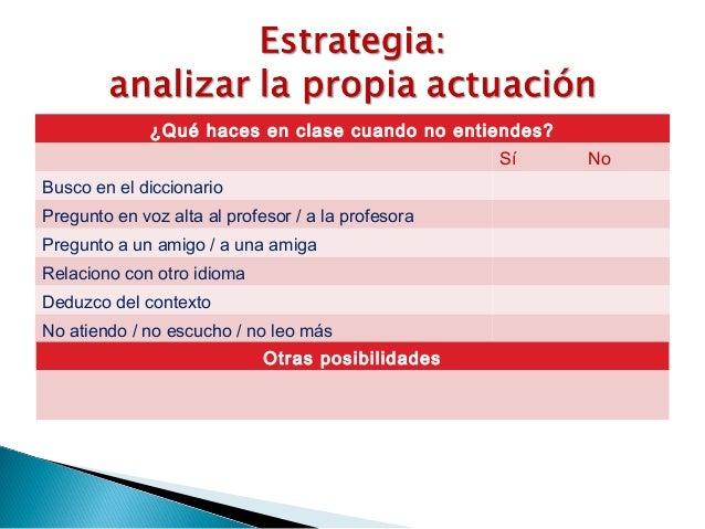 Estrategias. 2015
