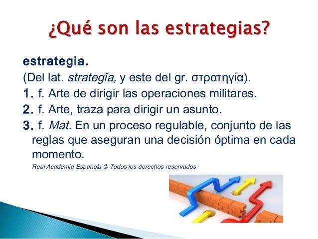 Estrategias. 2015 Slide 3
