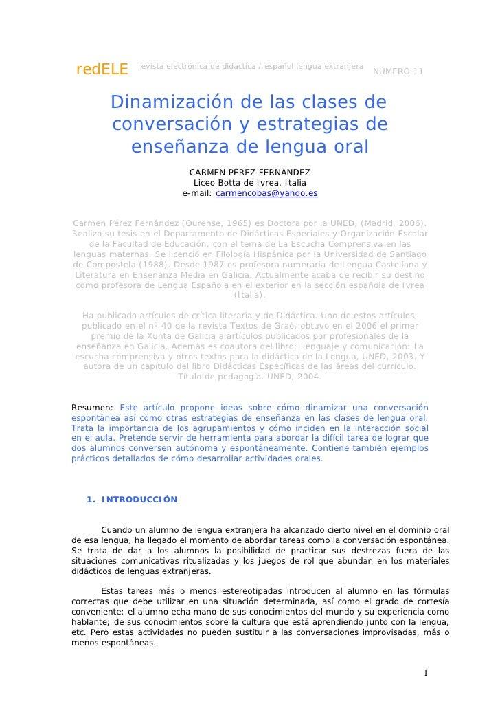 redELE         revista electrónica de didáctica / español lengua extranjera                                               ...